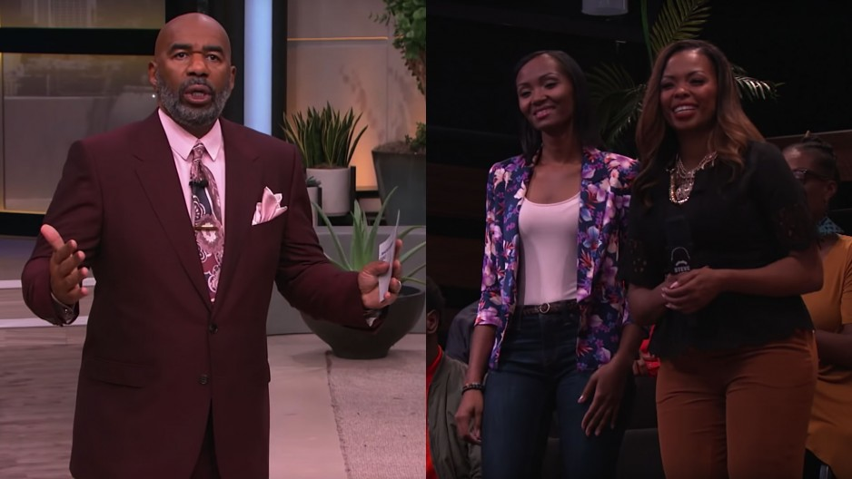 Steve Harvey gives advice to a young, single, Christian mother on how best to find a Godly man outside of her church